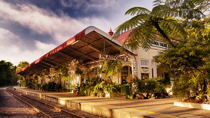 HIstoric Kuranda Rail Station