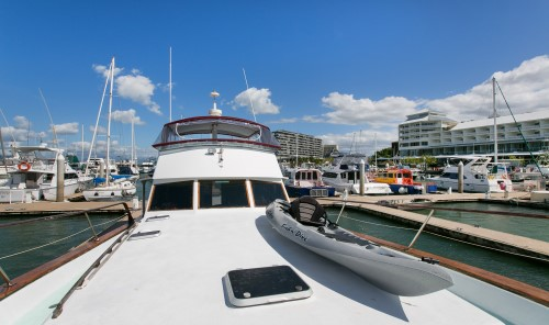 Cairns charter boat perfect for parties and events