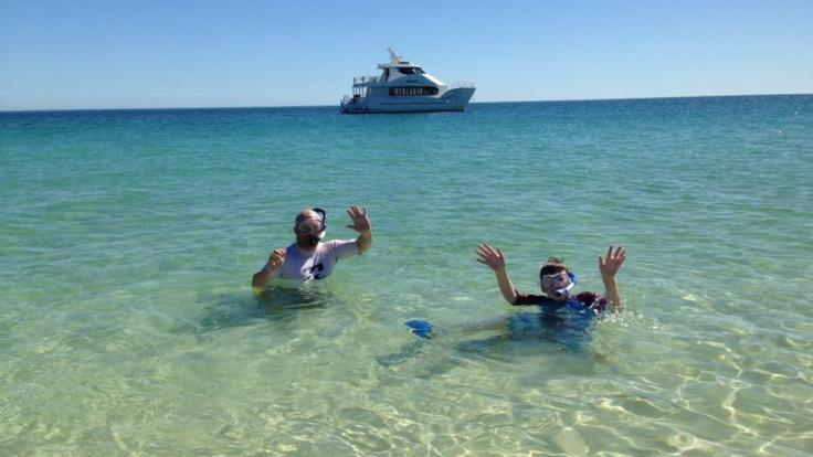 Swim, snorkel, kayak or just relax on your half day trip from Hervey Bay