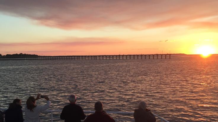 The perfect end to a stunning day in Hervey Bay | Sunset Cruise