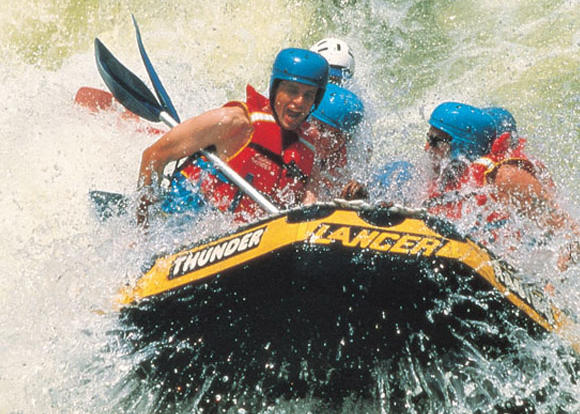 Barron River white water rafting in Cairns