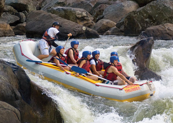 White water rafting, Tropical North Queensland, Cairns