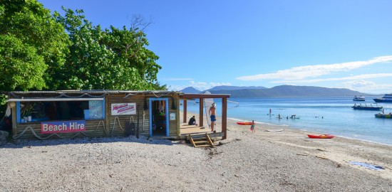 Snorkel Hire Hut on Fitzroy Island