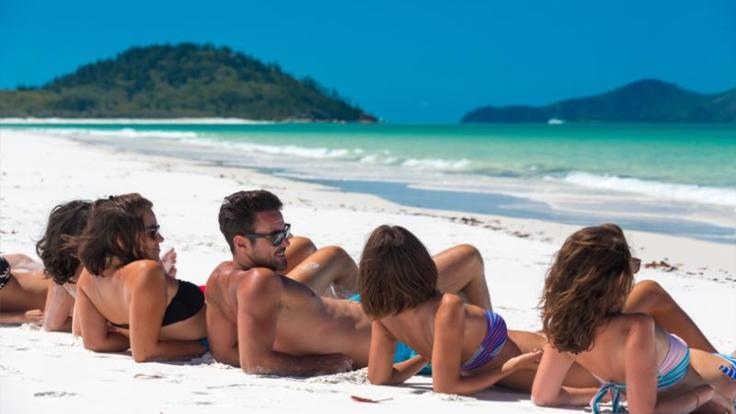 Boat Charter Airlie Beach | Relax on Whitehaven Beach