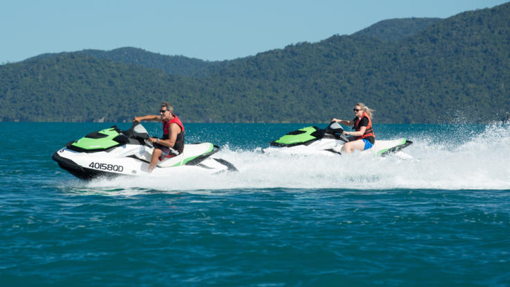 Jetski & Rafting Whitsunday Trip