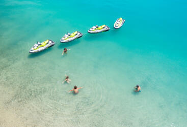 Island Tours by Jet Ski From Airlie Beach