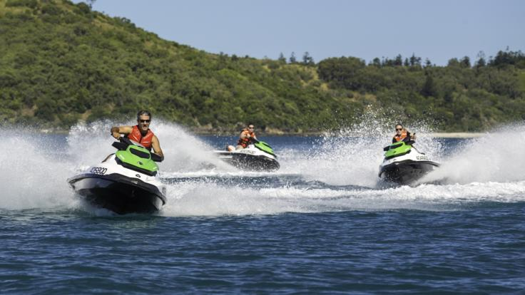 Enjoy the adventure with Whitsunday Jet Ski tours