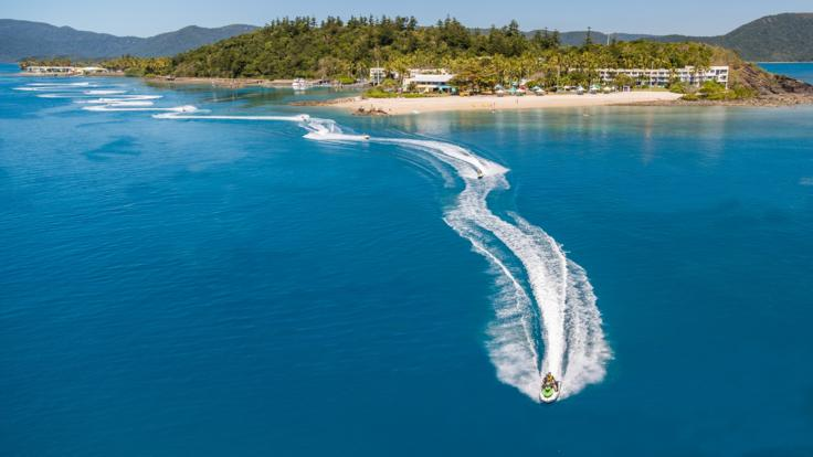 Stunning views on Whitsunday Jet Ski Tours