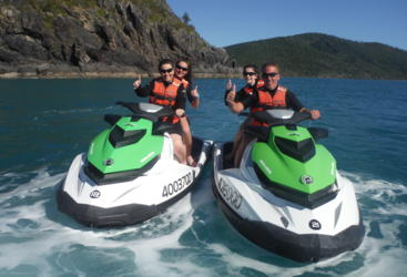 Twin Share Whitsunday Jet Ski Tours