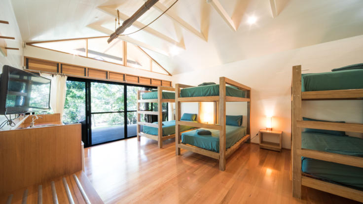 Shared bunk accommodation Paradise Cove Resort Whitsundays