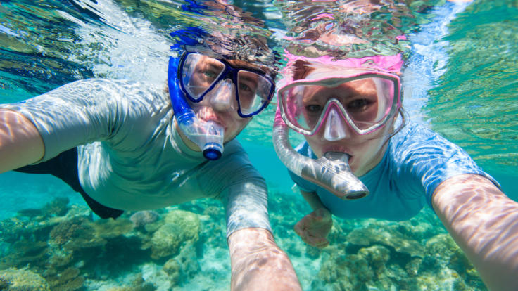 Snorkelling the Whitsundays on the Great Barrier Reef