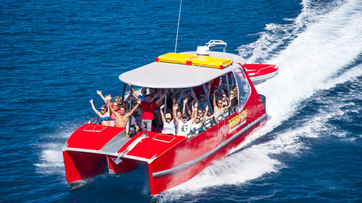 Great Barrier Reef High Speed Catamaran tour to Whitehaven Beach