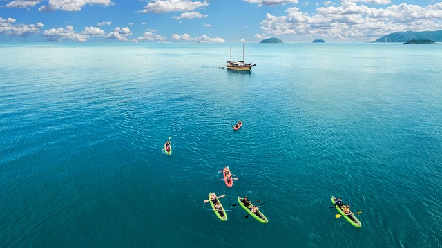 2 Day 1 Night Whitsunday Sailing - Includes Sea Kayaking