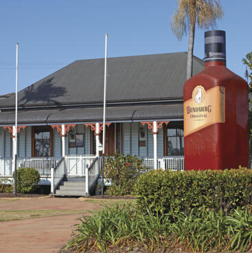 Bundaberg - the home of Bundaberg Rum!