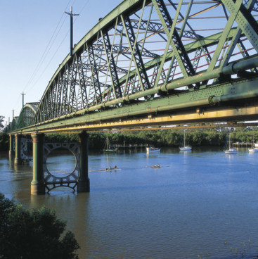 Burnett River Bridge, Bundaberg North Burnett
