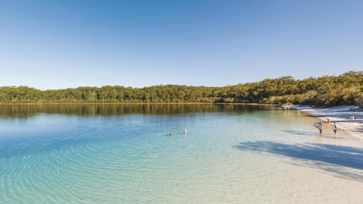 Lake McKenzie, Fraser Coast
