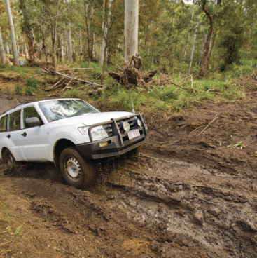 4WD fun in Kroombit Tops, Gladstone Region