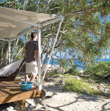 Wilson Island accommodation, Gladstone Region