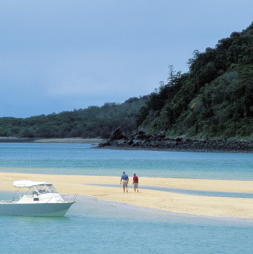 Sandbanks on Brampton Island, Mackay Region