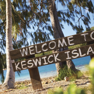 Welcome to Keswick Island, Mackay Region!