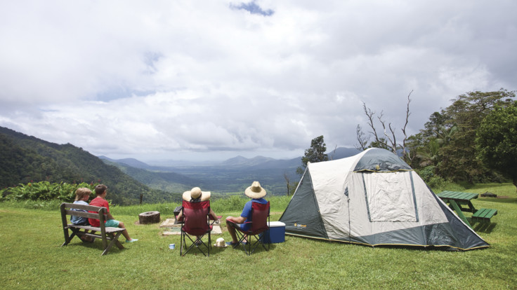 Camping at Eungella National Park, Mackay Region