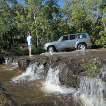 River crossing, TNQ