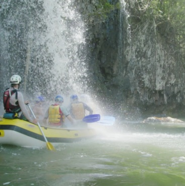 Whitewater rafting, Mission Beach