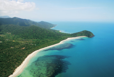 Cape Tribulation, where the rainforest meets the reef