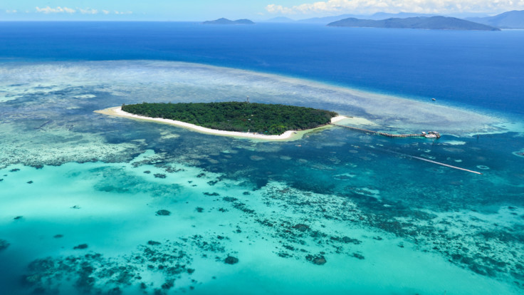 Green Island Tours: Aerial View Green Island, Tropical North Queensland