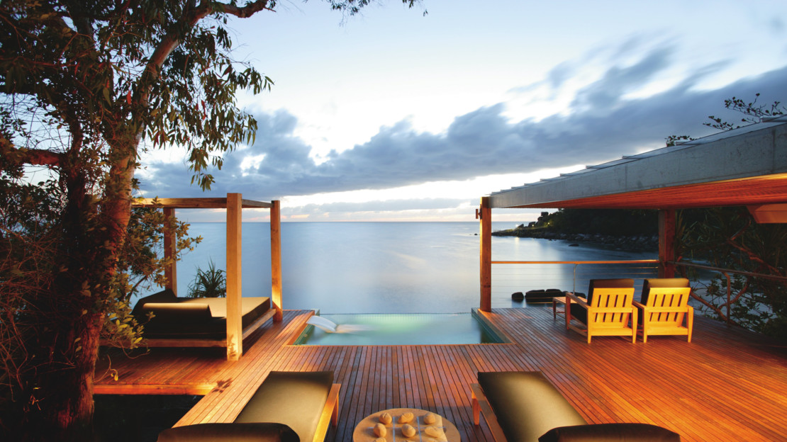Bedarra Point Villa Deck, Bedarra Island