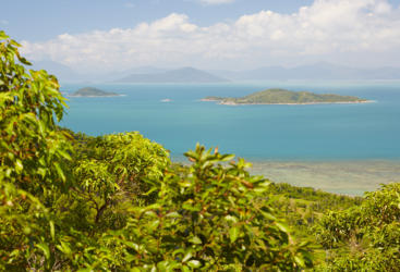 View from Dunk Island Lookout, Tropical North Queensland