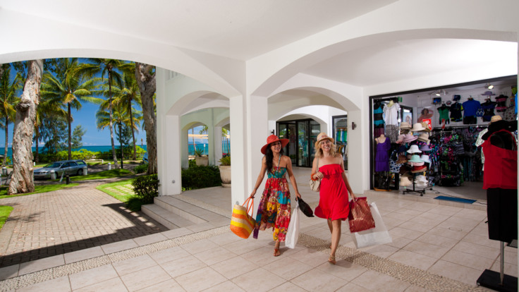 Boutique shopping, Palm Cove