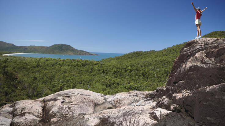 Spectacular hikes on Hinchinbrook Island, Townsville North Queensland