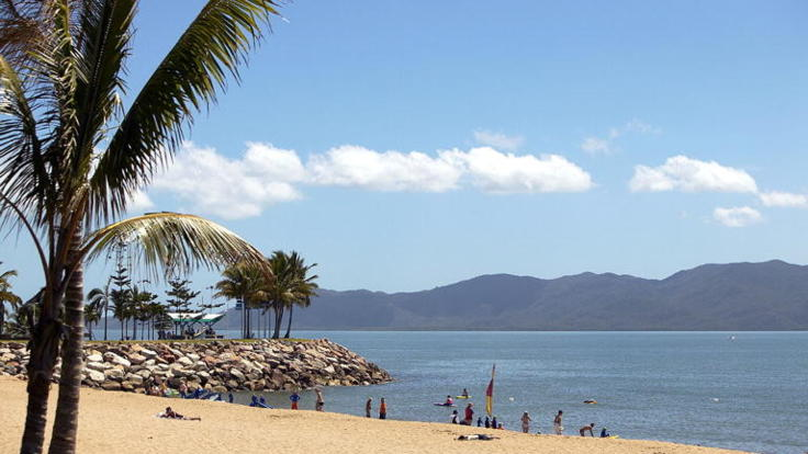 The Strand beachfront, Townsville