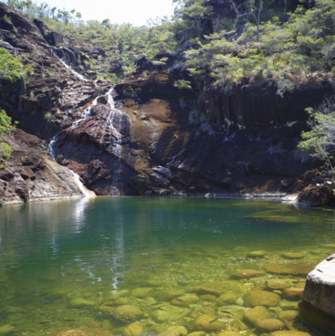 Zoe Falls, Hinchinbrook Island, Townsville North Queensland