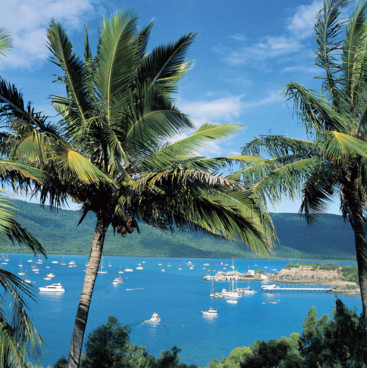 Shute Harbour from Coral Point Lodge, Whitsundays