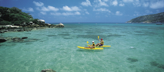 Kayaking, Lizard Island