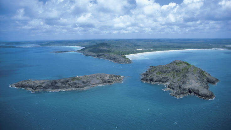 Aerial of Cape York Peninsula, The Wild North