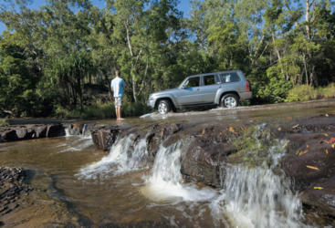 River crossing, Cooktown