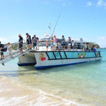 Ferry to Great Keppel Island