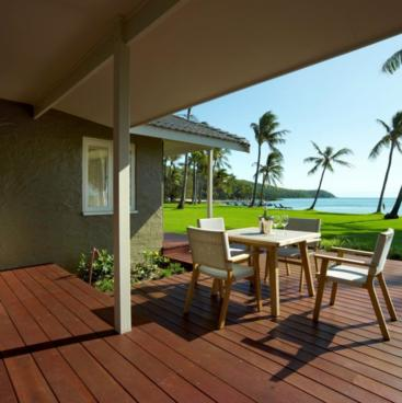 North Beachfront Suite Guest Patio, Orpheus Island