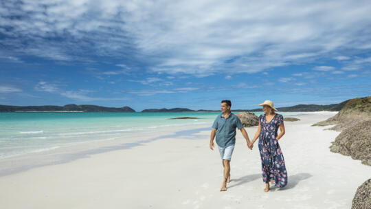 Whitehaven Beach Tours - Walk On the Silica Sands