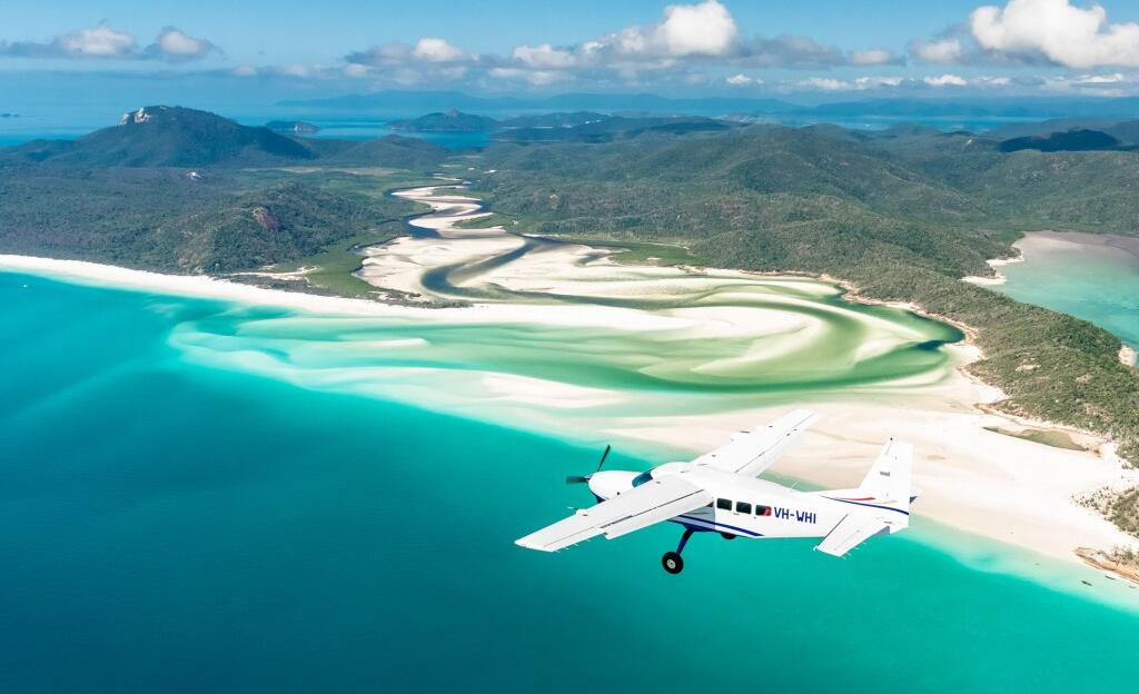 Whitehaven Beach Scenic Flights