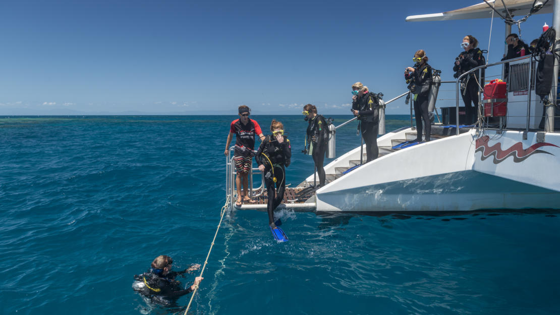 Great Barrier Reef Tours - Learn to Scuba Dive - Divemaster